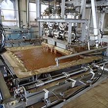 醤油圧搾機械